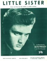 Elvis Presley - Sheet Music - Little Sister